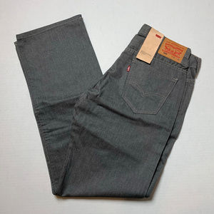 New Men's 569 Levi's Size Various 31/34 Charcoal